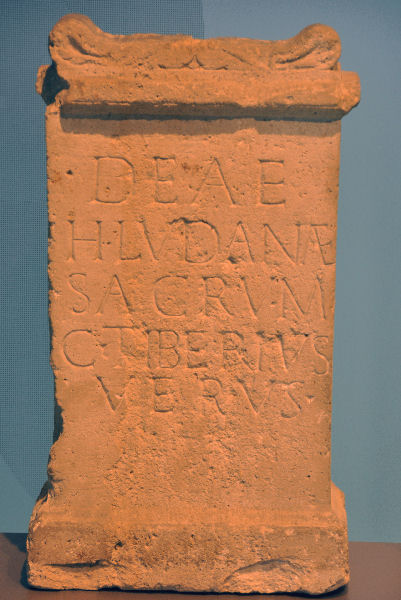 The Hludana inscription from Xanten