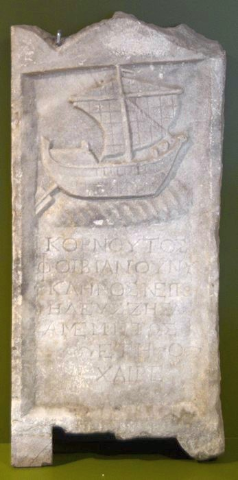 Ancyra, Tombstone of a sailor