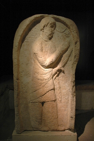 Aššur, Parthian stele of a worshipper
