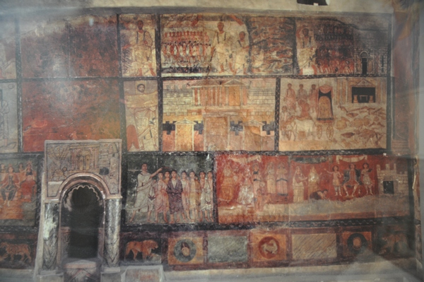 Dura Europos, Synagogue, Wall painting (3)