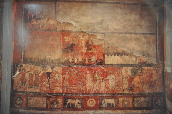 Dura Europos, Synagogue, Wall painting (4)
