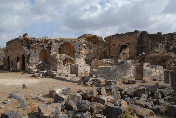 Bosra, Baths