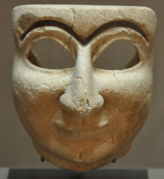 Mask of a Sumerian