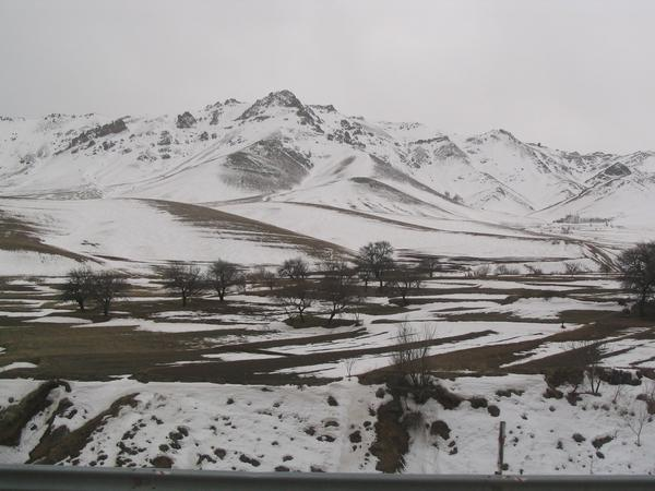 The Zagros west of Qazvin