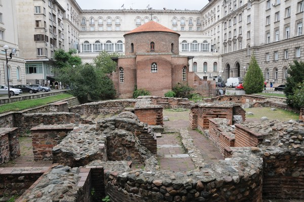 Serdica, Baths and Rotunda
