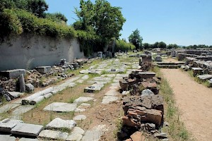 The Via Egnatia in Philippi