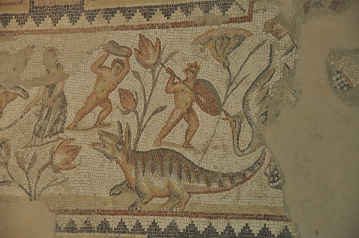 Sepphoris, House of the Dionysus Mosaic, Dionysiac scene