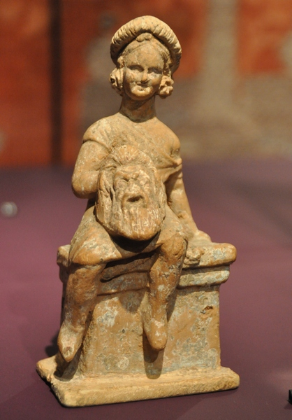 Thebes, Statuette of a young actor