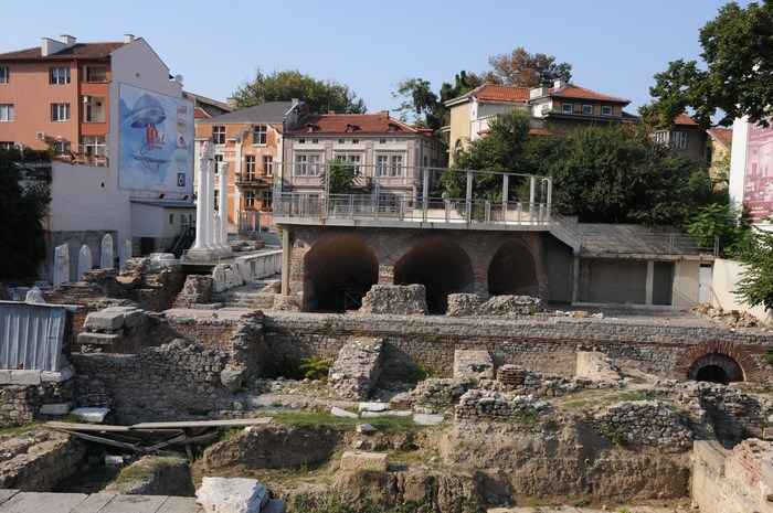 Plovdiv, Forum-Odeon area