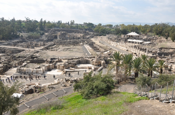 Beth Shean, Roman forum