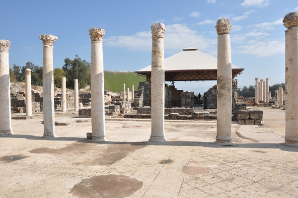 Beth Shean, Roman baths (1)