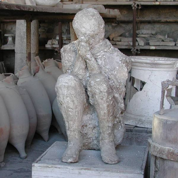 Pompeii, Cast of one of the victims