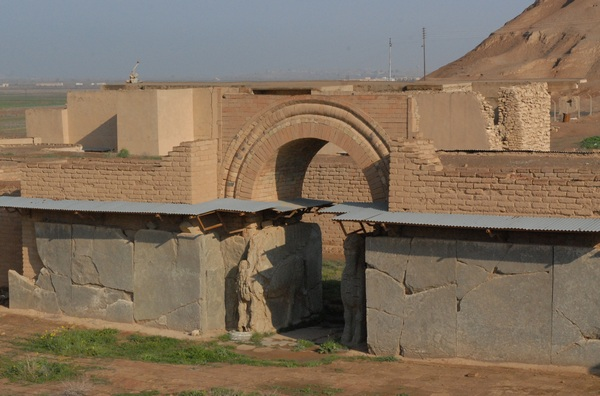 Nimrud, Northwest Palace of Aššurnasirpal II, Entrance to Main Court