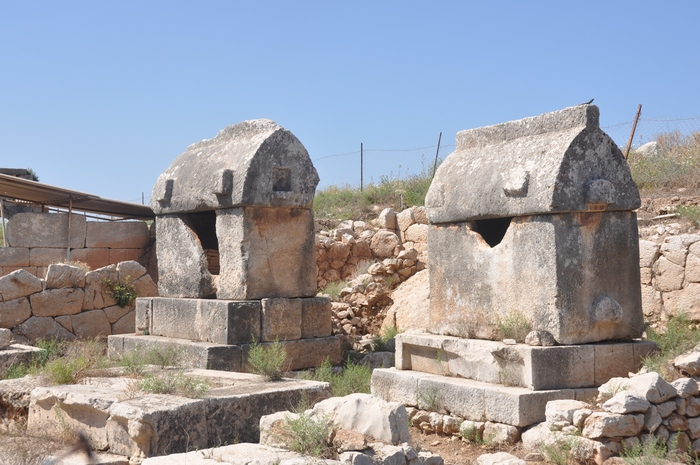 Patara, Lycian tombs