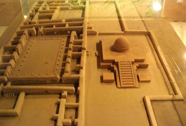 Fayaz Tepe, Monastery and Stupa, model