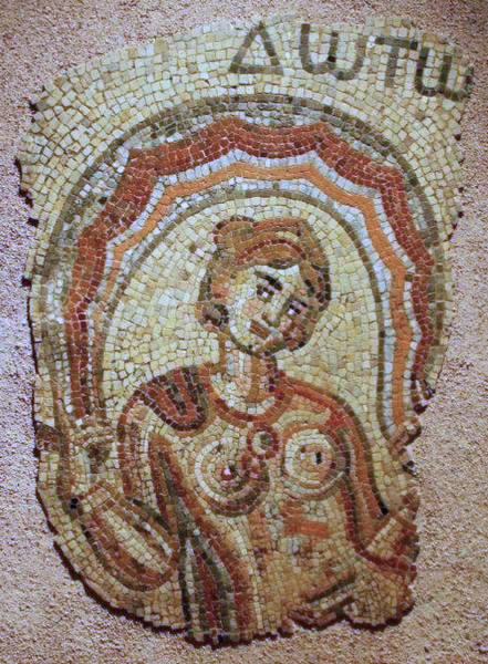 Toulose, mosaic