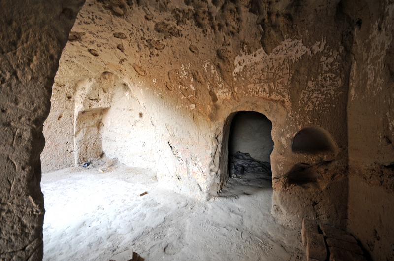 Kara Tepe, West, Inside a cave