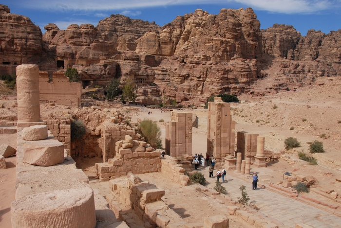 Petra, Inner City, Colonnaded Street (1)