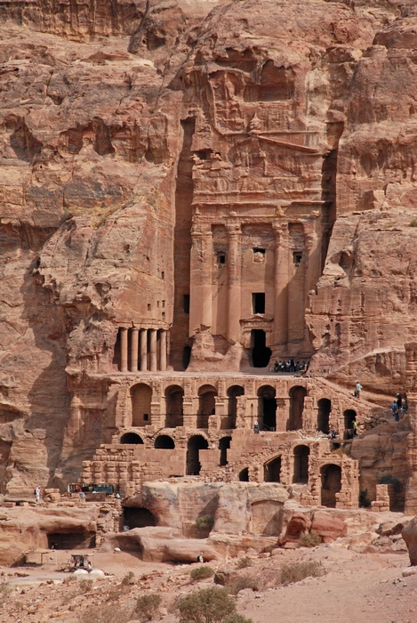 Petra, Royal Tombs, Tomb with the Urn