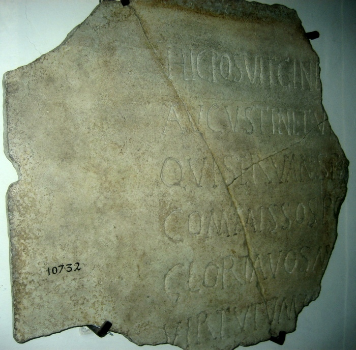 Ostia, Epitaph of Monnica