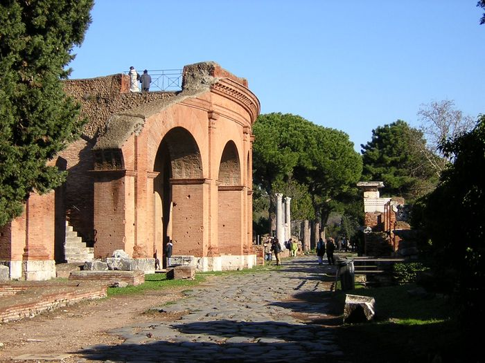 Ostia, Theater, Outside