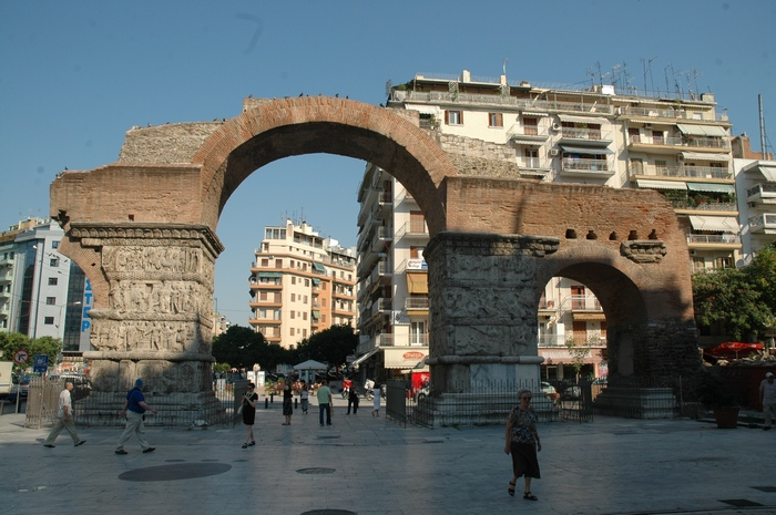 Thessaloniki, Arch of Galerius, East