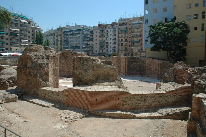 Thessaloniki, Palace of Galerius, Octagon (1)