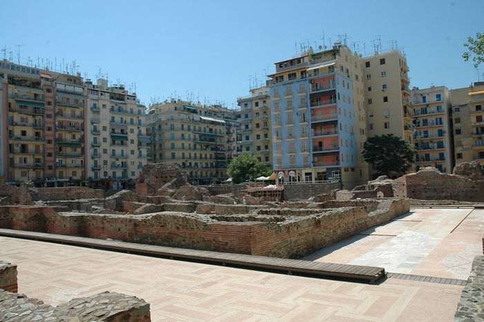 Thessaloniki, Palace of Galerius (1)