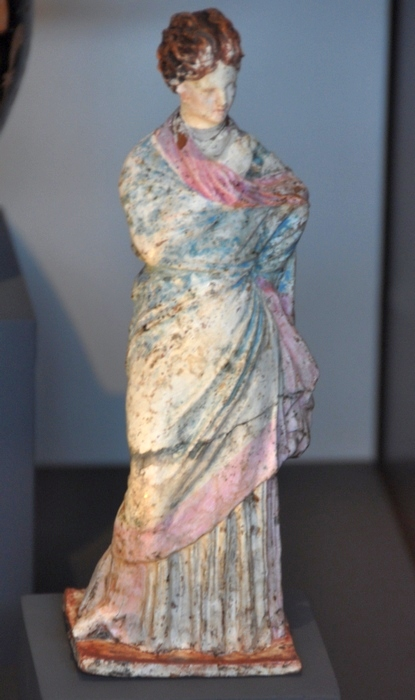 Thessaloniki, Statuette of a Hellenistic lady