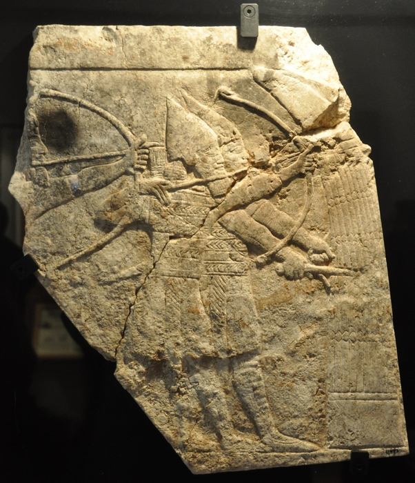 Nineveh, Palace of Aššurbanipal, Archers