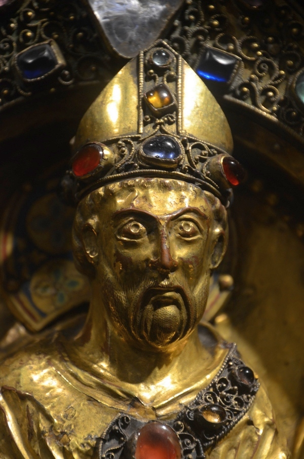 Maastricht, St.Servaas, Box reliquary of Servatius (detail)