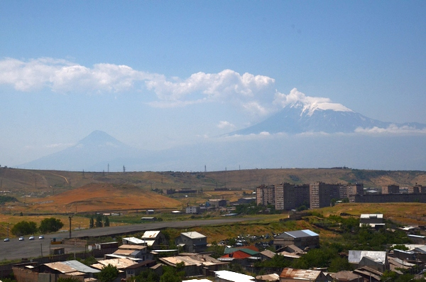 Ararat from Erebuni