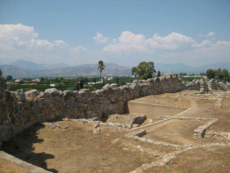 Tiryns, Cyclopean Wall