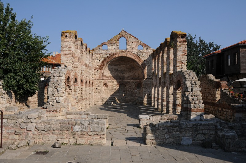 Nesebar, Byzantine church