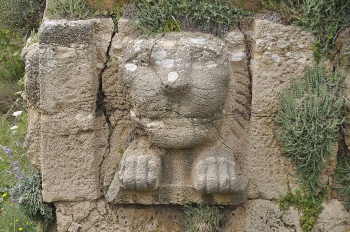 Byblos, Persian terrace, lion