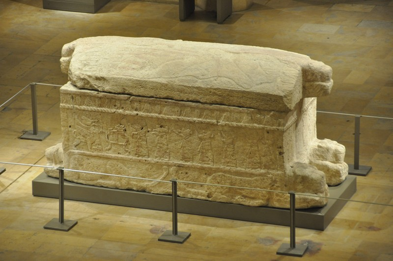 Byblos, Royal Tomb V, Sarcophagus of Ahirom (1)