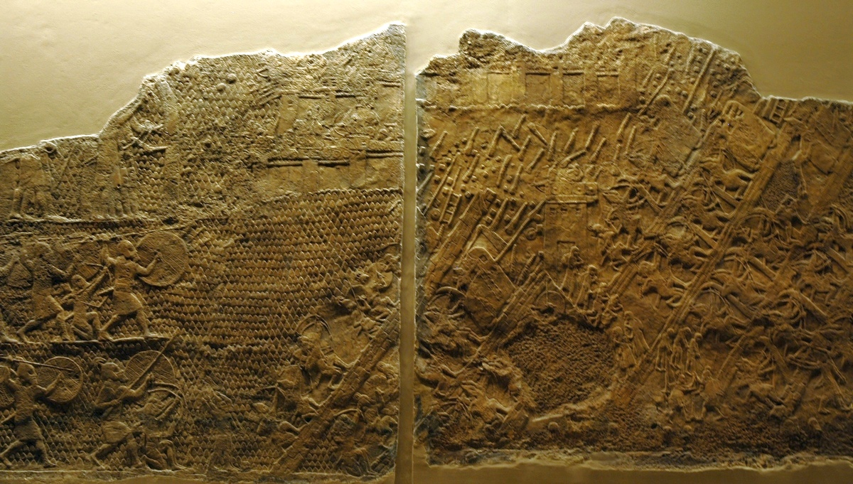 Nineveh, Palace of Senacherib, Lachish Room (1)