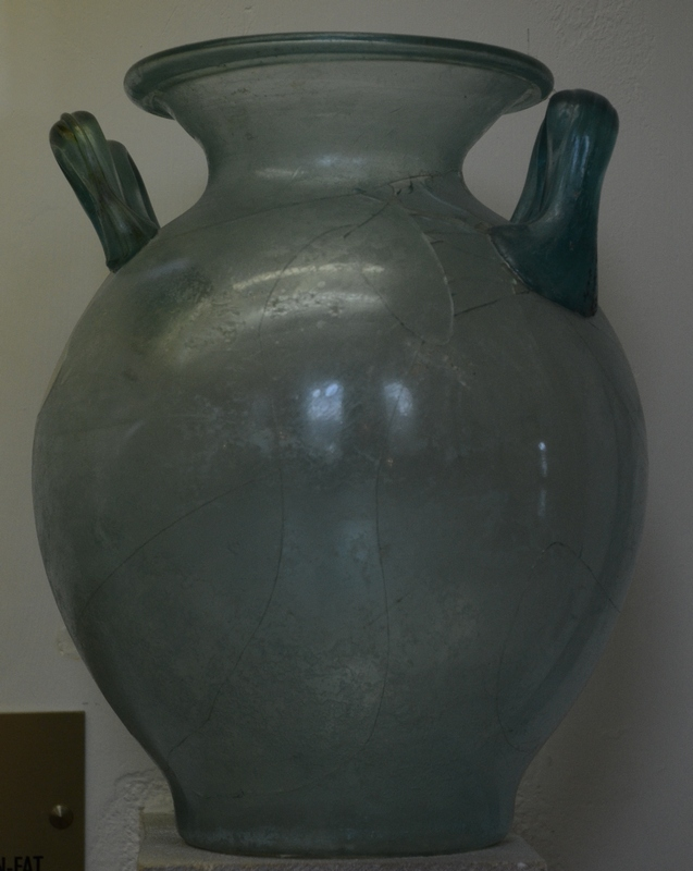 Reims, Glass Urn