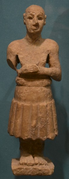 Statuette of a king