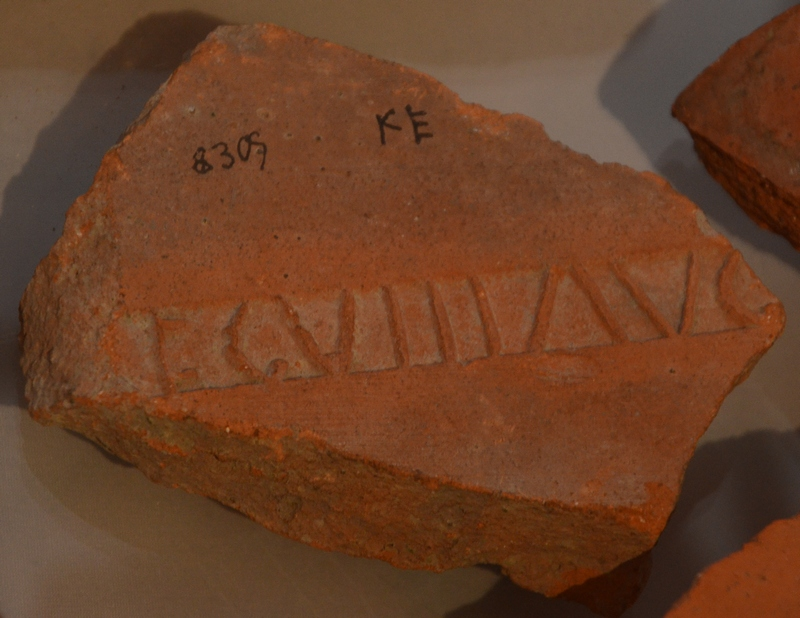 Rooftile of VIII Augusta from Strasbourg (2)