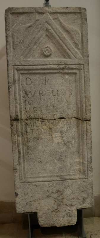 Emona, Inscription of Iovinus of XIII Gemina