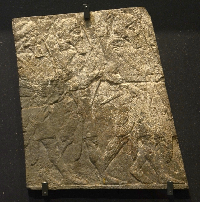 Nineveh, Relief of Assyrian archers (1)
