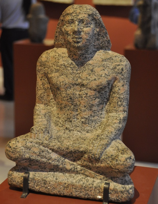Statue of a scribe