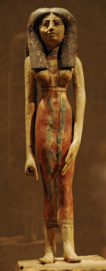 Thebes-West, Statuette of a woman