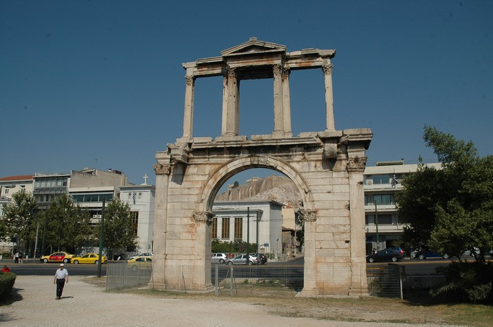 Athens, Arch of Hadrian
