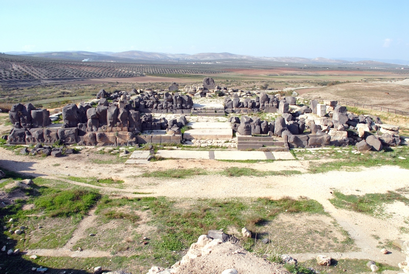 Ain Dara, Temple from SE