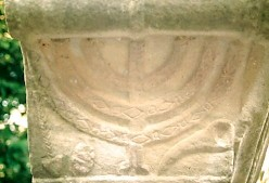 A menorah from Ostia