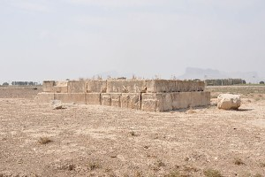 Takht-e Rostam from the northeast