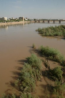 The Karun at Ahvaz