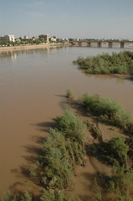 Karun River, at Ahvaz